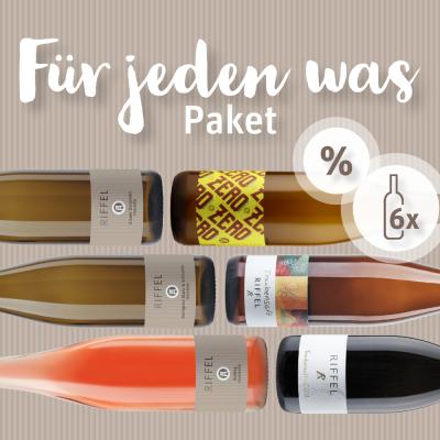 Weinprobierpaket Für jeden was dabei! | Bio | Rheinhessen | Weingut Riffel