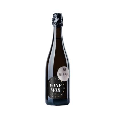 Lagensekt Bingen Scharlachberg Riesling brut nature | Edition Winemob | klassische Flaschengärung |Bio | Rheinhessen | Weingut Riffel